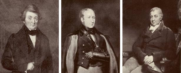 Newport Past John Frost Sir Thomas Phillips And Sir Charles Morgan